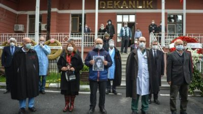 Prof. Dr. Feriha Öz için hüzünlü tören! Gözyaşlarını tutamadılar
