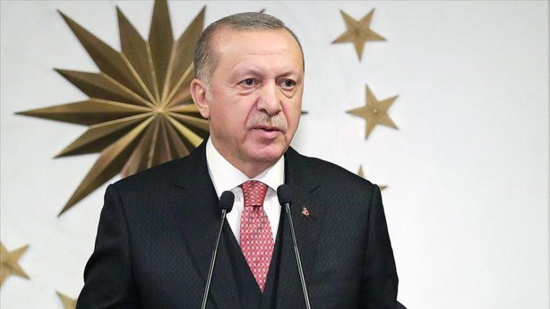 Erdoğan: Koronavirüse karşı mücadeleyi örnek bir sınav vererek atlatacağız
