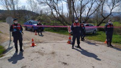 Bursa'da karantinadaki mahalleye yardım