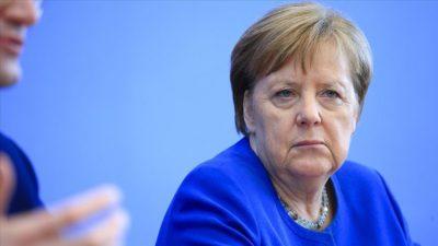Merkel'in karantina dönemi bitti