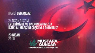 Başkan Mustafa Dündar'dan 23 Nisan için çağrı