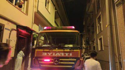 Bursa'da sahur vakti yangın paniği