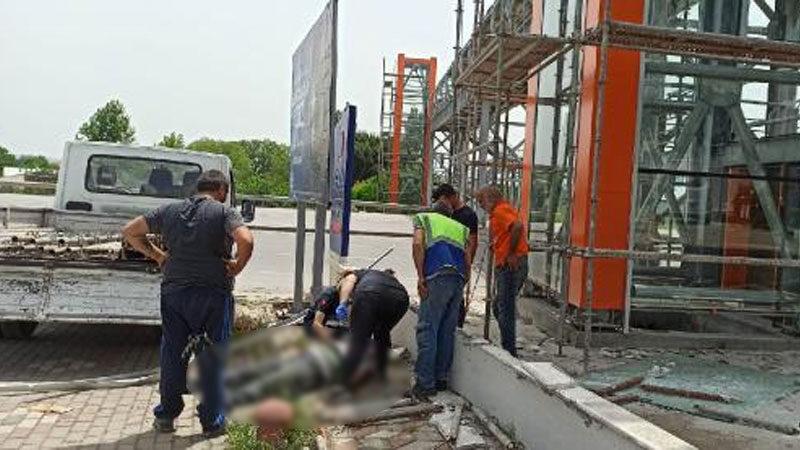 Bursa'da işçinin acı ölümü