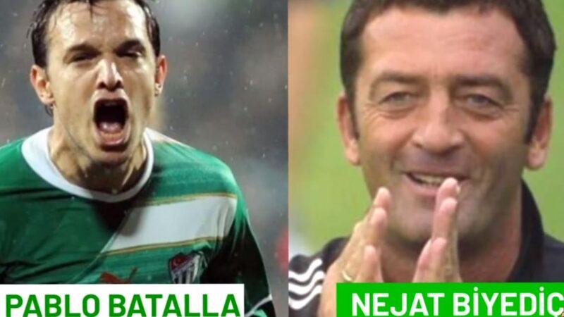 İşte Bursaspor'un iki yıldız ismi! 'Bir kulüp iki efsane'