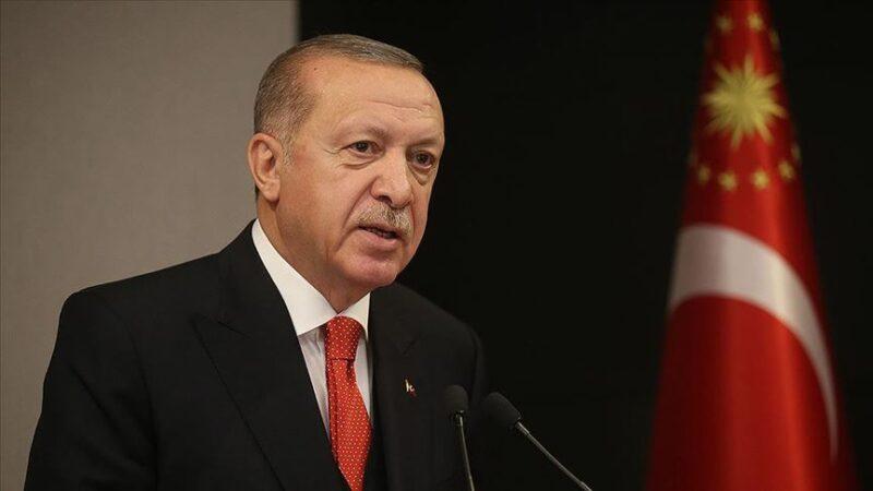 Cumhurbaşkanı Erdoğan'dan taziye mesajı…