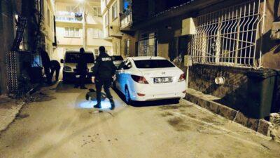 Bursa'da gece yarısı hareketli dakikalar