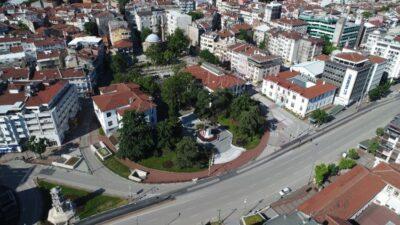 Bursa sokakları bayramda sessiz kaldı