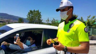 Bursa'da kısıtlamayı ihlal eden kişiye 3 bin 150 TL ceza