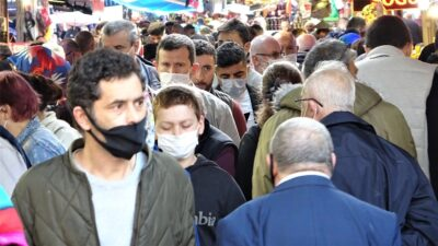 Bursa'da çarşı-pazar tıklım tıklım!