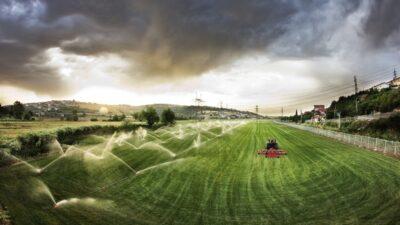 Bursa'daki 1 milyon dekar tarım arazisi sulanmaya başlandı