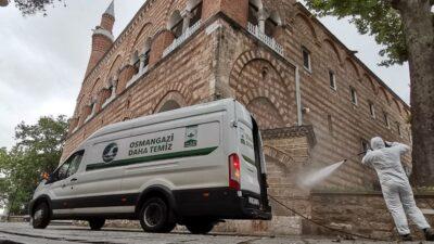 Osmangazi'deki camilerde temizlik seferberliği