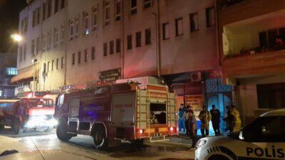 Bursa'da hamamda yangın paniği