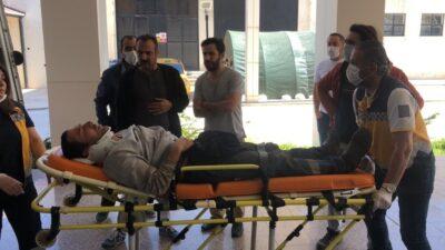 Bursa'da görünmez kaza… İki işçi yaralandı…