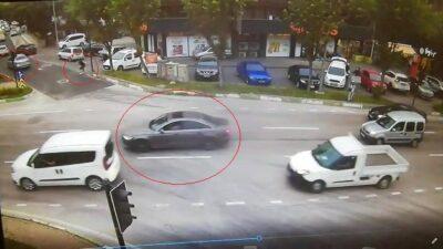 Bursa'daki silahlı çatışma kamerada