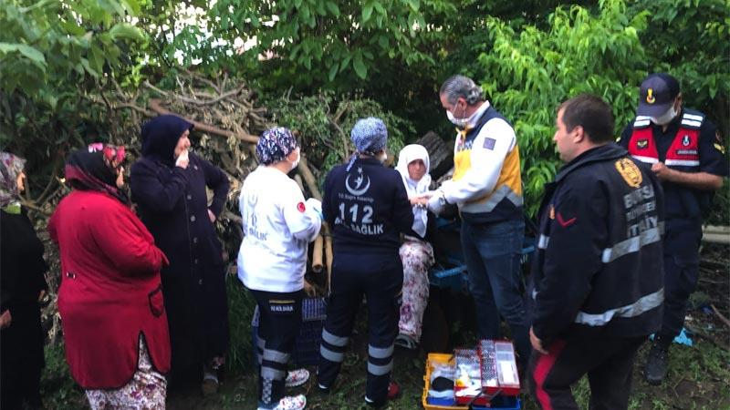 Bursa'da iftar saatinde yangın! Gözyaşları içinde izlediler