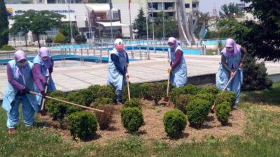 Osmangazi'de bayram temizliği