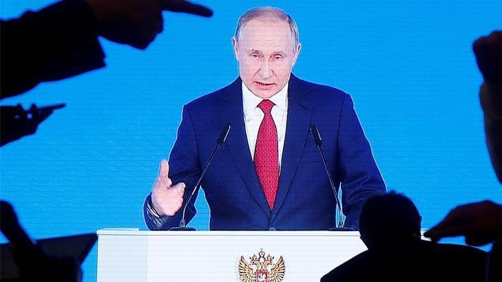 Putin'den 'hipersonik silah' açıklaması
