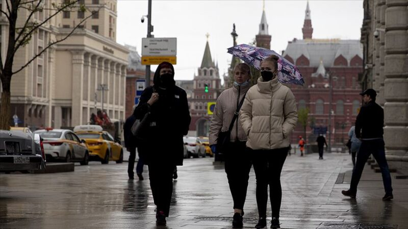 Rusya'da koronavirüs vaka sayısı 335 bini aştı