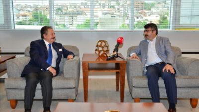 Yıldırım Belediye Başkanı Oktay Yılmaz'dan Olay Medya'ya ziyaret