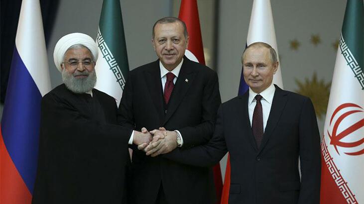 Erdoğan, yarın Putin ve Ruhani ile görüşecek