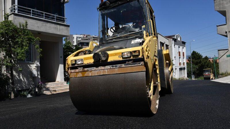 6 ayda 20 bin ton asfalt