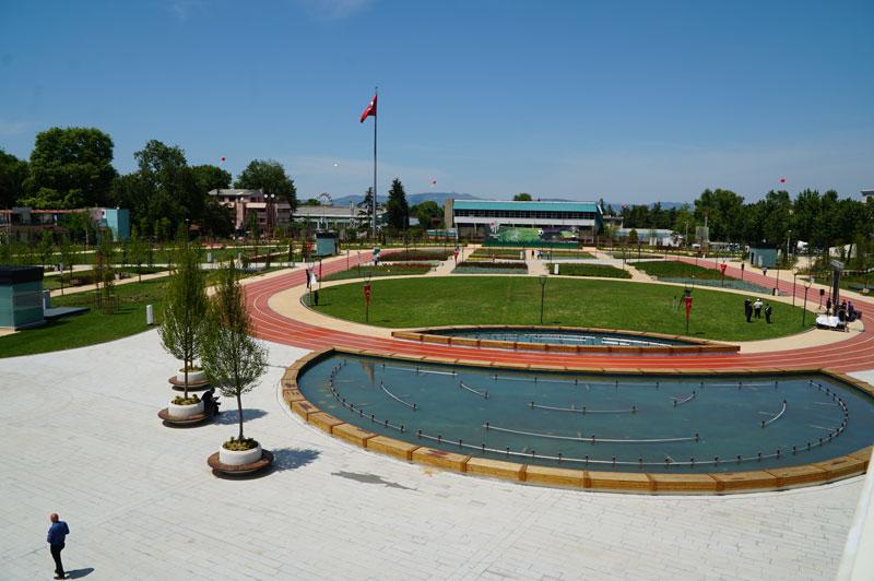 Bursa Millet Bahçesi açıldı… Erdoğan Ankara'dan takip etti…