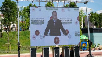 Bursa'nın da aralarında olduğu Millet Bahçeleri açıldı… Erdoğan Ankara'dan takip etti…