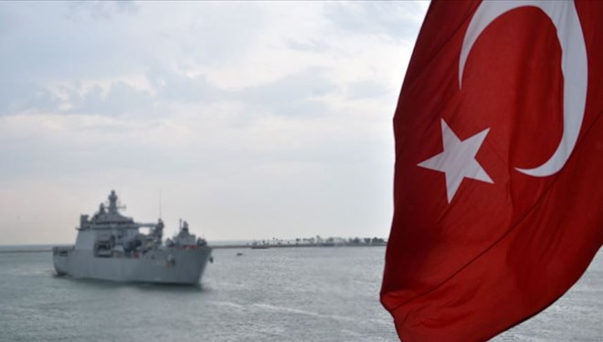 Fransız gemisini taciz iddiasına yanıt