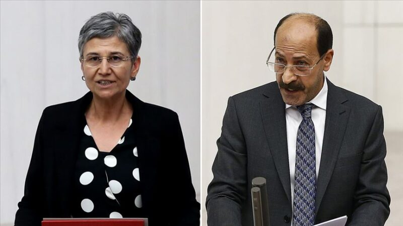 Milletvekilliği düşürülen HDP'liler gözaltına alındı