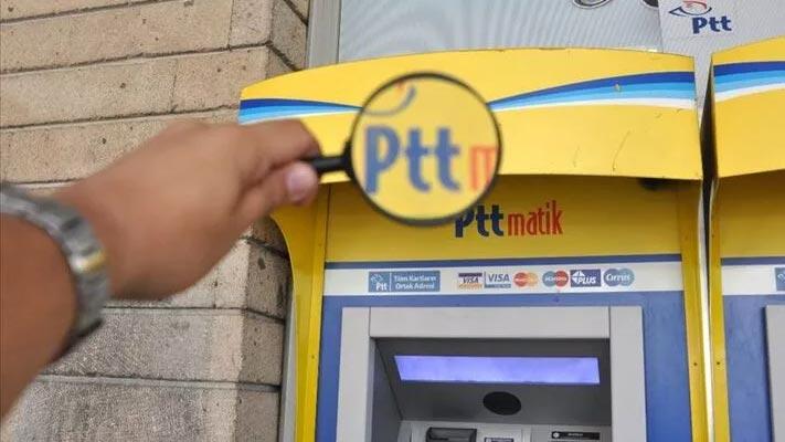 PTT ATM'lerinden çipli TC kimlik kartıyla çekim imkanı