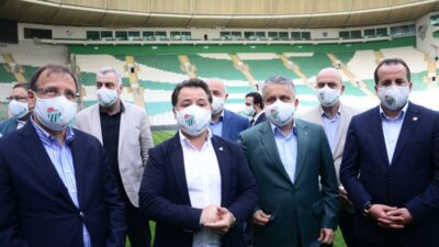 AK Parti'den Bursaspor'a tam destek