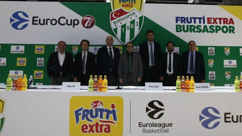 Bursaspor Avrupa'ya renk katacak… EuroCup'ta da ses getireceğiz…