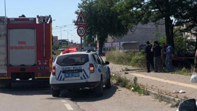 Bursa'da korkunç kazada can pazarı