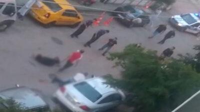 Bursa'daki silahlı kavganın görüntüleri ortaya çıktı