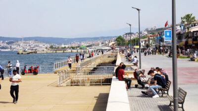 Görüntü Bursa'dan! Kısıtlama sonrası ilk kez…