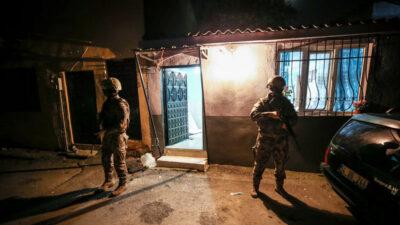 Bursa'da 2 bin 500 polisle operasyon: Çok sayıda gözaltı