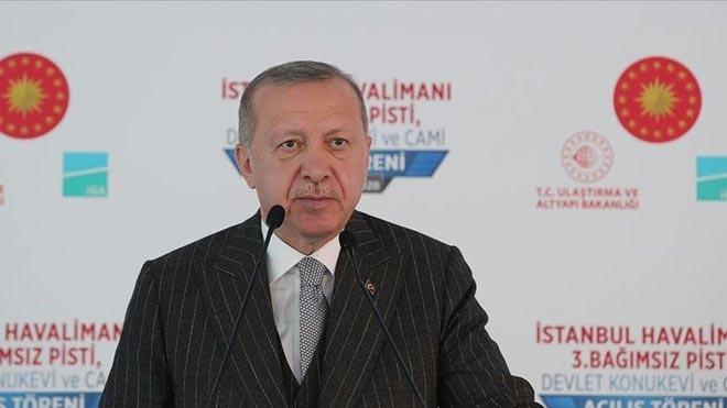 Cumhurbaşkanı Erdoğan'dan flaş Ayasofya ve Akdeniz açıklamaları