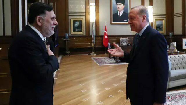 Beştepe'de görüştüler! Ankara'dan Libya mesajı