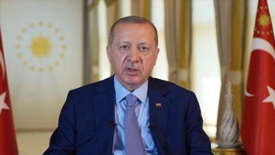 Cumhurbaşkanı Erdoğan şehit aileleri ile buluştu