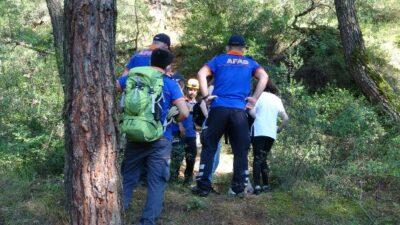 Bursa'da hareketli dakikalar! 3 genç kız ormanda kâbusu yaşadı