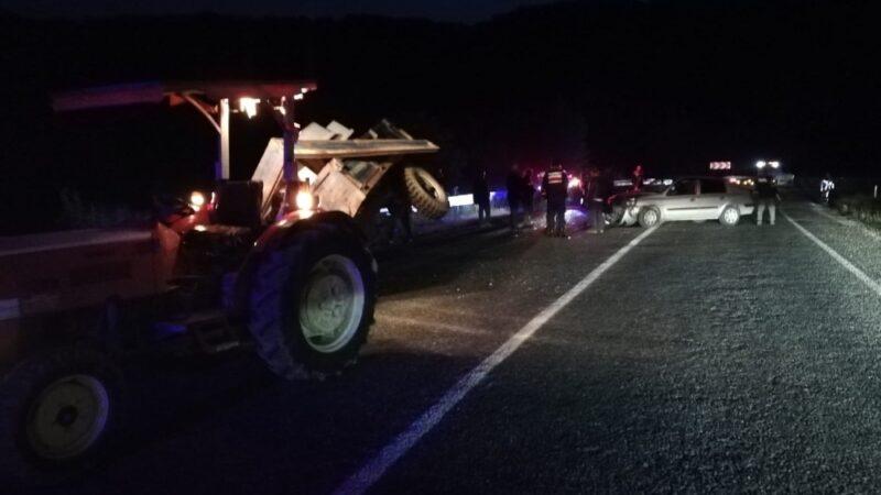 İnegöl-Domaniç yolunda kaza: 2 yaralı
