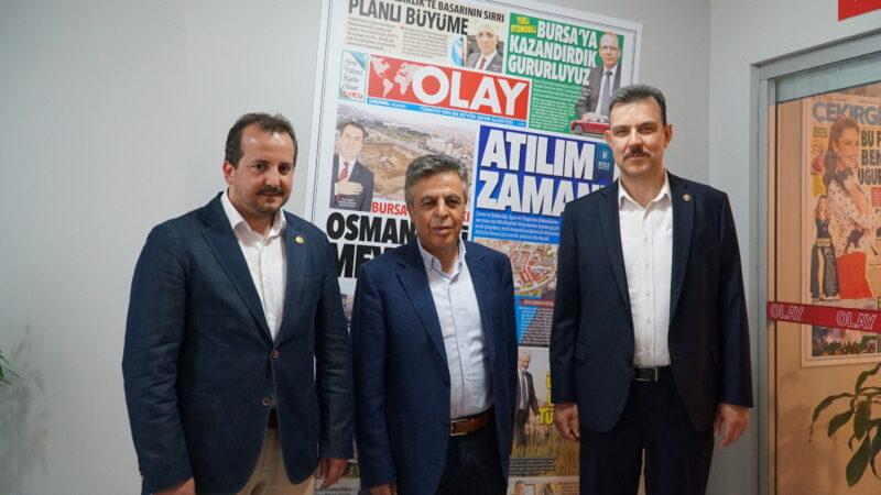 Esgin ve Özen'den OLAY'a ziyaret… Bursa'ya yatırımlar devam edecek…