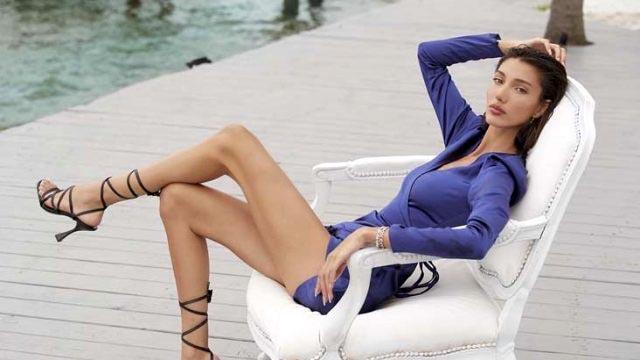 Türkiye güzeli siyah bikinisiyle nefes kesti!