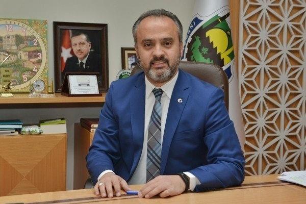 Büyükşehir Belediye Başkanı Alinur Aktaş