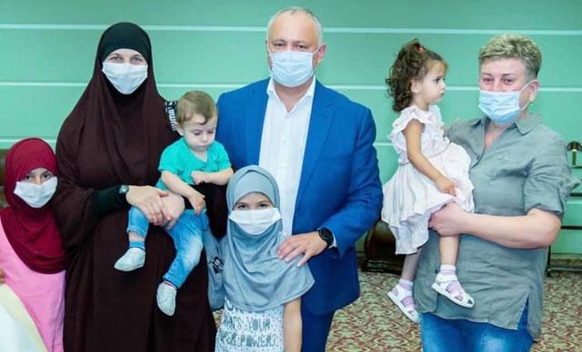 MİT'ten Suriye'de operasyon! Natalia Barkal ve 4 çocuğu kurtarıldı