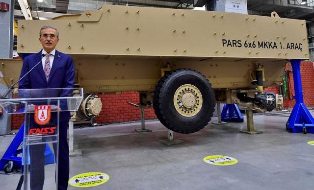 Savunma Sanayii Başkanı Demir: Pars'ı 2021 yılında TSK'ya teslim edeceğiz