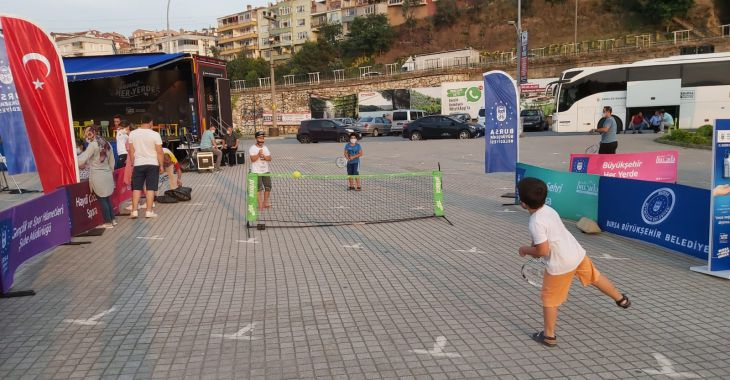 Spor çocukların ayağına gidiyor