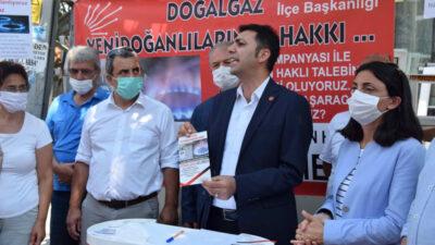 İmza kampanyası başlattılar! 'Yenidoğan'a doğalgaz istiyoruz'
