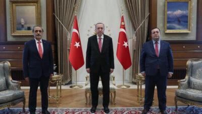 Cumhurbaşkanı Erdoğan, Başsavcıları kabul etti