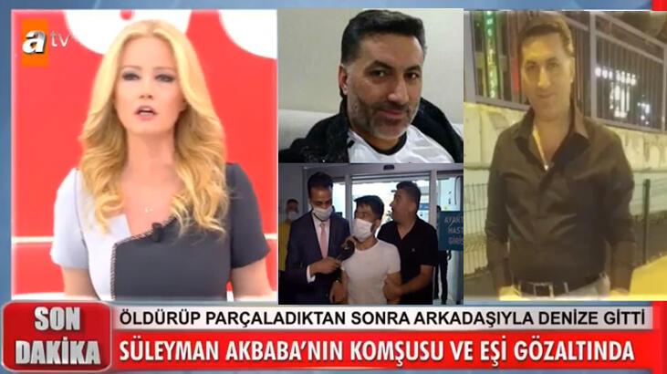 Süleyman Akbaba cinayetinde komşusunda tüyler ürperten itiraflar!